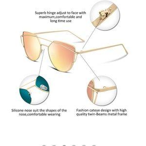 Accessories - Aviator polarized sunglasses for women